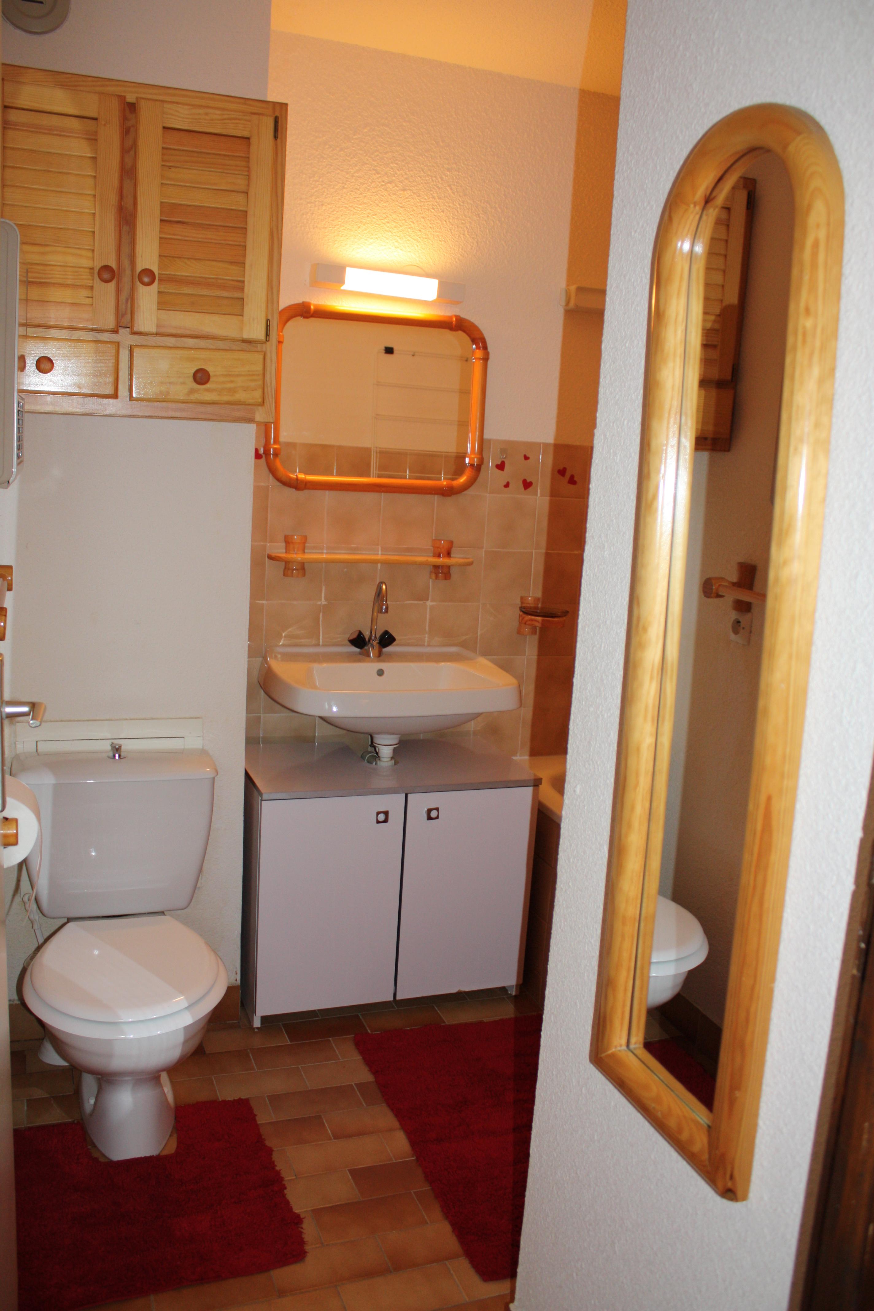 Salle De Bain Appartement Le Petit Coeur Albiez Savoie